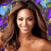 Queen Beyonce Art Print