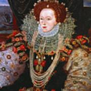 Queen Elizabeth I, C1588 Art Print
