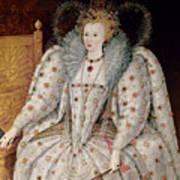 Queen Elizabeth I Of England And Ireland Art Print