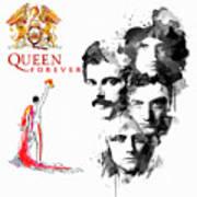 Queen Forever Remix II Art Print