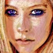 Queen Lavigne Art Print