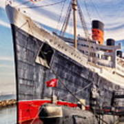 Queen Mary Ghost Ship Art Print