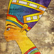 Queen Of Ancient Egypt Art Print
