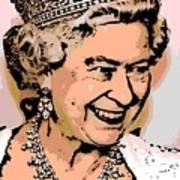 Queen Of Diamonds Art Print