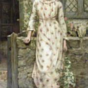 Queen Of May Art Print