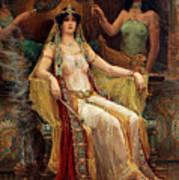 Queen Of Sheba Art Print