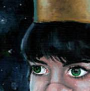 Queen Of Space Art Print