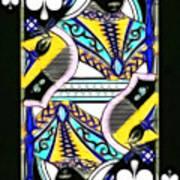 Queen Of Spades - V2 Art Print