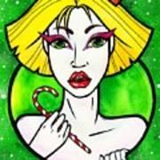 Queen Of Sweets Art Print