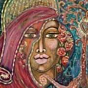 Queen Of The Cosmos Art Print