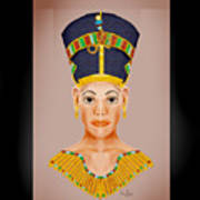 Queen Of The Nile Art Print