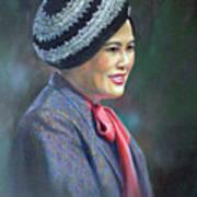 Queen Sirikit Art Print