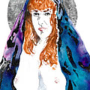 Queen Sof The Universe  Art Print