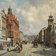 Queen Street, Aukland Art Print