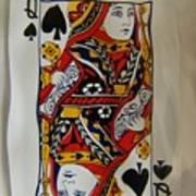 Queen Twice Art Print