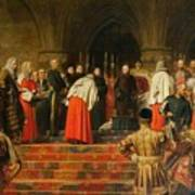 Queen Victoria Opening  Art Print