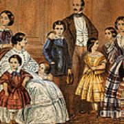 Queen Victoria, Prince Albert Art Print