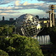 Queens New York City - Unisphere Art Print