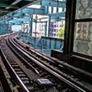 Queens Rails Art Print
