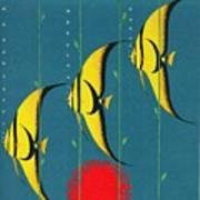 Queensland Great Barrier Reef - Vintage Poster Vintagelized Art Print