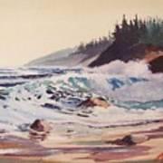 Quensland Beach Art Print