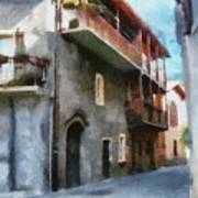 Quiet In Almenno San Salvatore Art Print