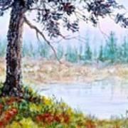 Quiet Inlet Art Print