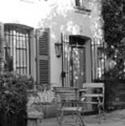 Quiet Moment  At Saint -  Tropez Art Print