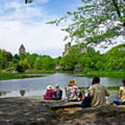 Quiet Moment In Central Park Art Print