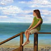 Quiet Moment Art Print by Roseann Gilmore