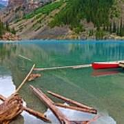 Moraine Lake I, Alberta Art Print