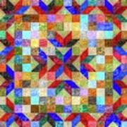 Quilt Pattern No. 1 Art Print