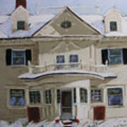 Quincy Street Art Print by Mary Capriole