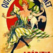 Quinquina Dubonnet Aperitif 1895 Art Print