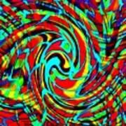 Quintet For Coloured Paint Ab H B Art Print