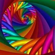 Quite In Different Colors -6- Art Print