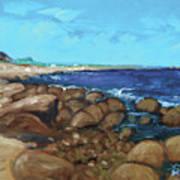 Quonocontaug West Beach Art Print