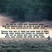 Quotes From Interstellar Art Print