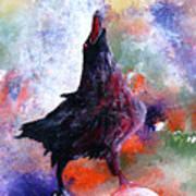 Quothe The Raven Art Print