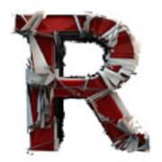 R Is Rock N Roll Art Print