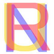 R U N Art Print
