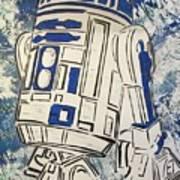 R2d2'd Art Print