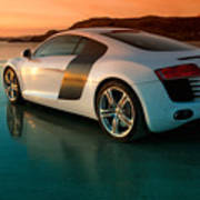 R8 On The Beach 2 Art Print by Rory Trappe