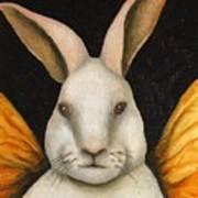 Rabbit Fairy Art Print