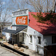 Rabbit Hash Store-front View Angle Art Print