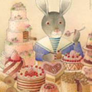 Rabbit Marcus The Great 01 Art Print
