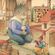 Rabbit Marcus The Great 03 Art Print