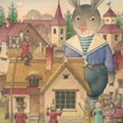 Rabbit Marcus The Great 16 Art Print