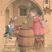 Rabbit Marcus The Great 20 Art Print
