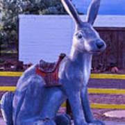 Rabbit Ride Route 66 Art Print